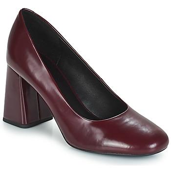 Zapatos Mujer Zapatos de tacón Geox D SEYLISE HIGH Burdeo