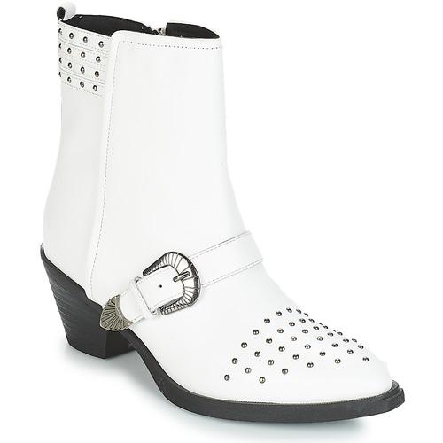 Casual salvaje Geox D LOVAI Blanco - Envío gratis Nueva promoción - Zapatos Botines Mujer  Blanco