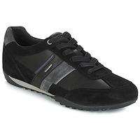 Zapatos Hombre Zapatillas bajas Geox U WELLS Negro / Marino