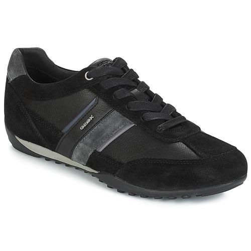 Zapatos de hombre y mujer de promoción por tiempo limitado Geox U WELLS Negro / Marino - Envío gratis Nueva promoción - Zapatos Deportivas bajas Hombre