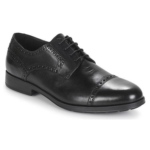 Zapatos de mujer baratos zapatos de mujer Geox U HILSTONE 2FIT Negro - Envío gratis Nueva promoción - Zapatos Derbie Hombre