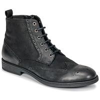 Zapatos Hombre Botas de caña baja Geox U JAYLON Negro