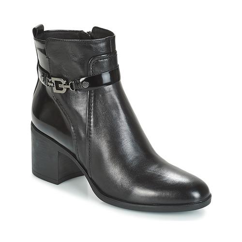 vendible moda caliente buena reputación Geox D GLYNNA Negro - Envío gratis | Spartoo.es ! - Zapatos ...