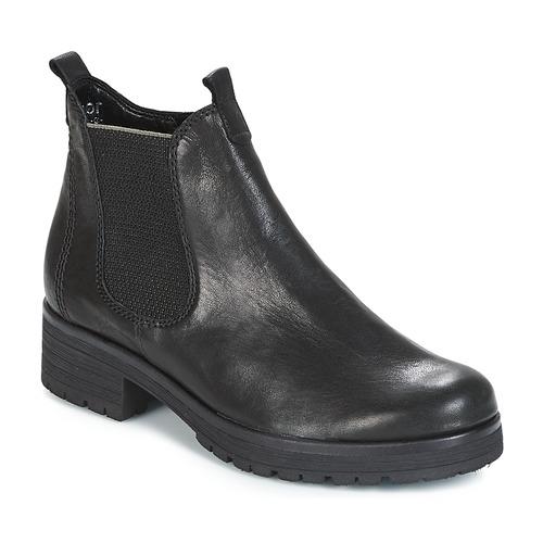 De Gabor Zapatos Caña Mujer Baja Botas Negro Treass OkPiZTXu