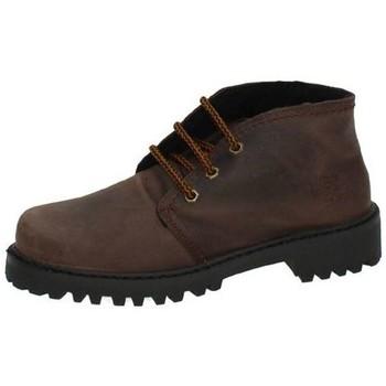 Zapatos Mujer Botas de caña baja Potomac Bota de piel blanda Marrón