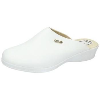 Zapatos Mujer Zuecos (Clogs) Dchus Zueco anatÓmico chus Blanco