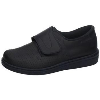 Zapatos Hombre Zapatillas bajas Percla Zueco de piel velcro AZUL