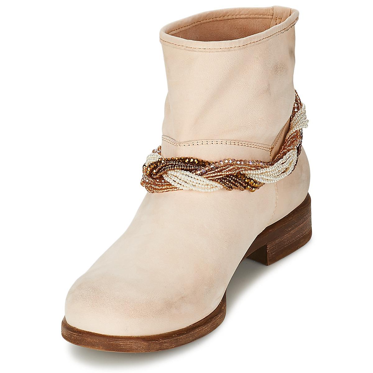 Tosca Tosca Tosca Blu TETHYS Beige - Envío gratis Nueva promoción - Zapatos Botas de caña baja Mujer c74f97