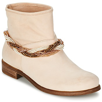 Zapatos Mujer Botas de caña baja Tosca Blu TETHYS Beige