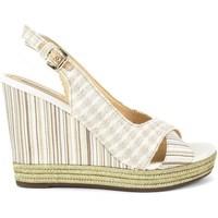 Zapatos Mujer Sandalias Geox Janira Blanco-Crema
