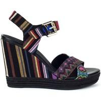 Zapatos Mujer Sandalias Geox Janira Negro