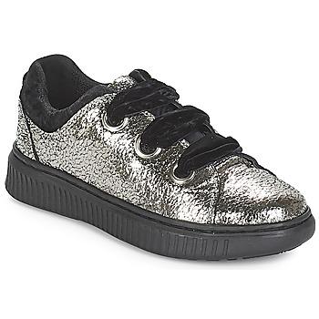 Zapatos Niña Zapatillas bajas Geox J DISCOMIX GIRL Plata