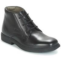Zapatos Niño Botas de caña baja Geox JR FEDERICO Negro