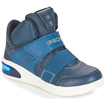 Zapatos Niño Zapatillas bajas Geox J XLED BOY Marino