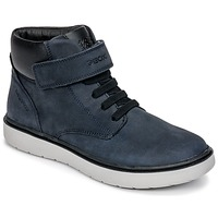 Zapatos Niño Zapatillas altas Geox J RIDDOCK BOY WPF Marino
