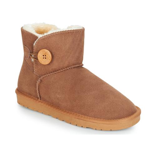 Zapatos Mujer Botas de caña baja Kaleo NEDRI Camel