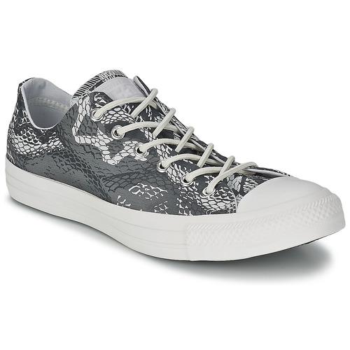 Zapatos Mujer Zapatillas bajas Converse CT REPT PRT OX Negro / Blanco
