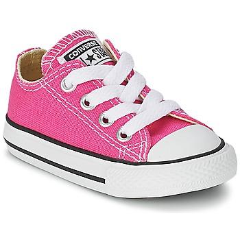 Zapatos Niña Zapatillas bajas Converse Chuck Taylor All Star SEASON OX Rosa