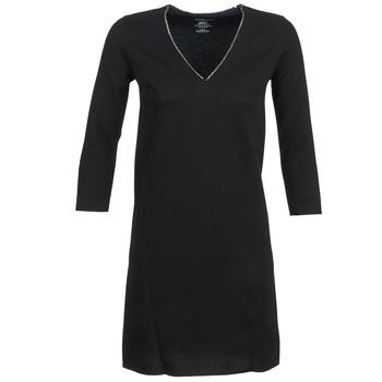 textil Mujer vestidos cortos Majestic BRUNEHILDE Negro