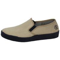 Zapatos Hombre Slip on Oldroof Zapatillas de lona Beige