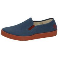 Zapatos Hombre Slip on Oldroof Bambas de lona Azul