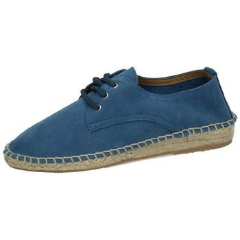 Zapatos Mujer Alpargatas Campesina de esparto Azul