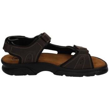 Zapatos Hombre Sandalias Baerchi Sandalias con velcro Marrón