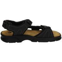Zapatos Hombre Sandalias Baerchi Sandalias con velcro Negro