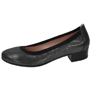 Zapatos Mujer Zapatos de tacón Parymedio Toreras cÓmodas piel Negro