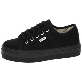 Zapatos Mujer Zapatillas bajas Victoria Zapatillas Negro 6689e15be25