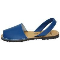 Zapatos Mujer Sandalias Avarca Menorquina Menorquinas azules Azul