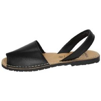 Zapatos Mujer Sandalias Avarca Cayetano Ortuño Menorquinas negras Negro