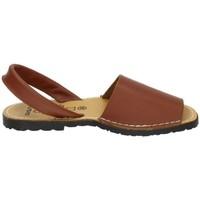 Zapatos Mujer Sandalias Avarca Menorquina Menorquinas marrones