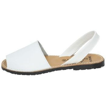 Zapatos Mujer Sandalias Avarca Cayetano Ortuño Menorquinas blancas Blanco