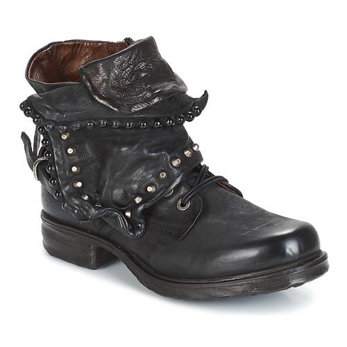 Airstep / A.S.98 SAINTEC Negro - Envío gratis | ! - Zapatos Botas de caña baja Mujer