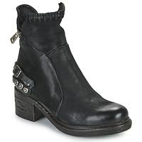 Zapatos Mujer Botas de caña baja Airstep / A.S.98 NOVA 17 Negro