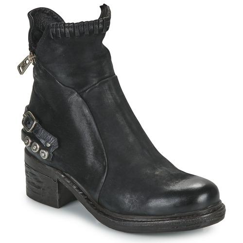 Casual salvaje Zapatos especiales Airstep / A.S.98 NOVA 17 Negro