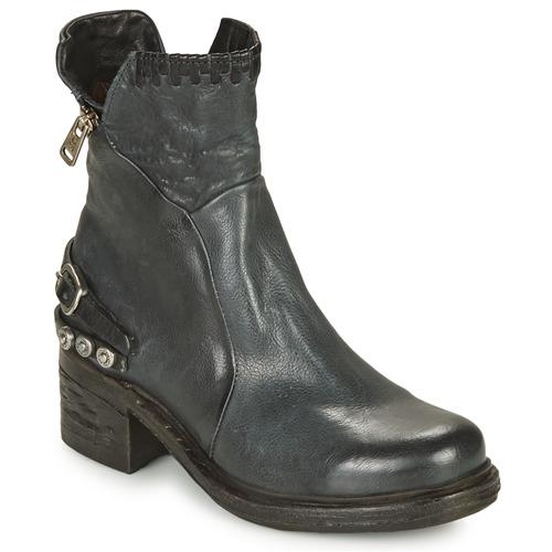 Zapatos Mujer Botas de caña baja Airstep / A.S.98 NOVA 17 Azul / Negro