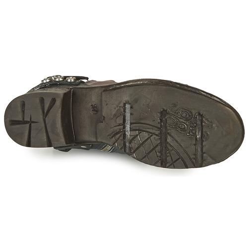 Azul Baja s Zapatos Negro AirstepA Botas Mujer 17 98 Nova De Caña 35Lq4RAj