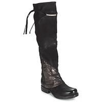 Zapatos Mujer Botas a la rodilla Airstep / A.S.98 SAINT EC PATCH Negro