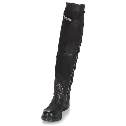 Zapatos A Mujer Saint La 98 Negro s Ec Patch Botas AirstepA Rodilla tsQrdh