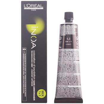 Belleza Tratamiento capilar L'oréal Inoa Coloration D'Oxydation Sans Amoniaque 5,3 60 Gr 60 g