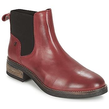 Zapatos Mujer Botas de caña baja Casual Attitude JELIA Rojo