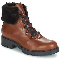 Zapatos Mujer Botas de caña baja Casual Attitude JENO Cognac