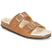 Zapatos Mujer Zuecos (Mules) Casual Attitude JODRI Camel