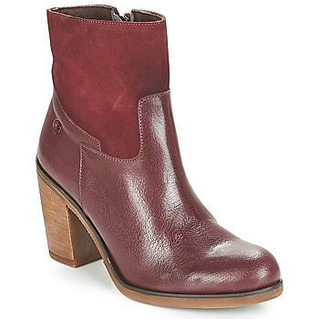 Zapatos Mujer Botines Casual Attitude WASRAH Rojo