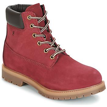 Zapatos Mujer Botas de caña baja Casual Attitude JORD Rojo