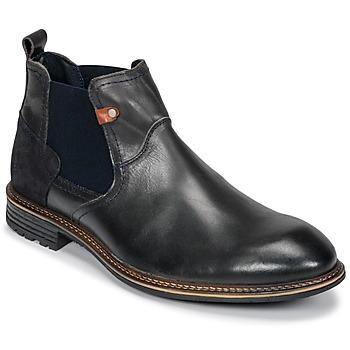 Zapatos Hombre Botas de caña baja Casual Attitude FIORELLA Gris