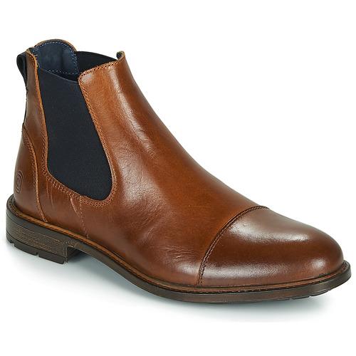 Zapatos Hombre Botas de caña baja Casual Attitude JANDY Cognac / Marino