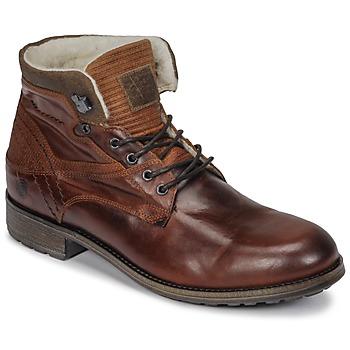 Zapatos Hombre Botas de caña baja Casual Attitude JOPA Marrón